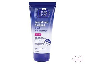 Blackhead Clearing 2-in-1 Wash & Mask