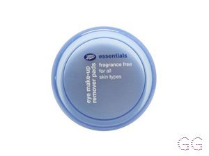 Essentials Fragrance Free Eye Makeup Remover Pads