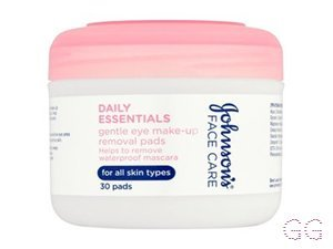 Daily Essentials Gentle Eye Make-up Removal Pads
