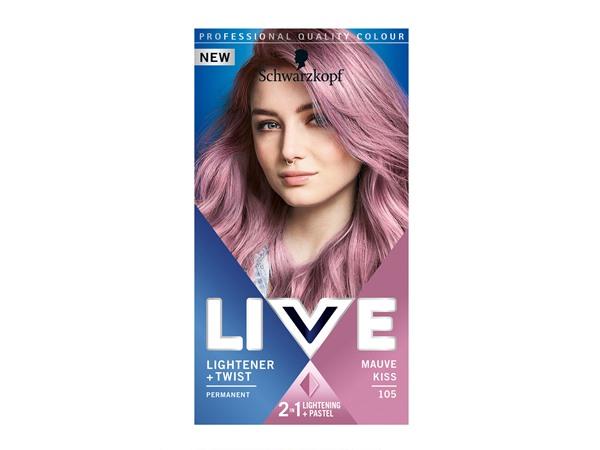 Schwarzkopf LIVE Lightener + Twist Blonde Hair Dye