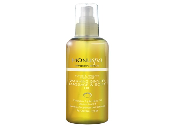 spa Warming Ginger Body Oil