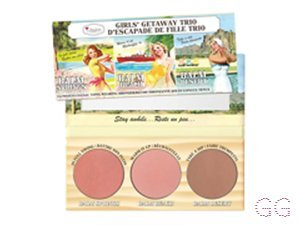 theBalm Girls' Getaway Trio Long-Wearing Bronzer/Blush
