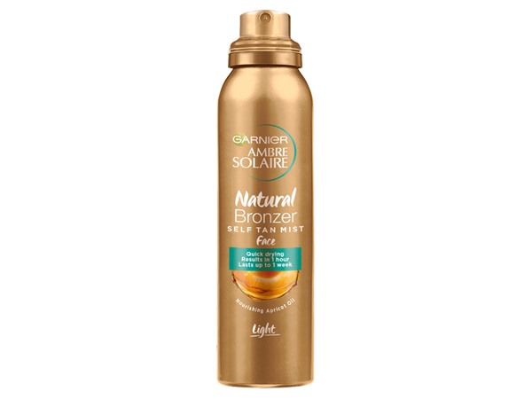 Ambre Solaire No Streaks Bronzer Self-tanning Dry Face Mist Spray